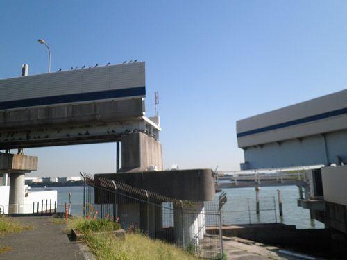 首都高速道路1号羽田線・羽田可動橋(2013年9月19日)6