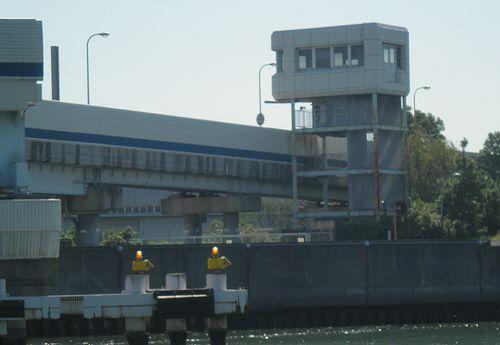 首都高速道路1号羽田線・羽田可動橋(2013年9月19日)4