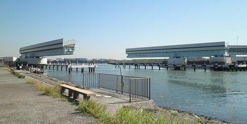 首都高速道路1号羽田線・羽田可動橋(2013年9月19日)1