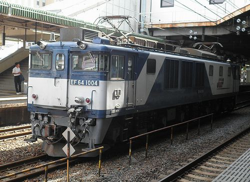 EF64 1004[愛](2013年9月29日・小山駅)
