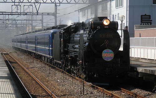 D51 498牽引「SLみなかみ」(2013年9月29日・高崎問屋町駅)