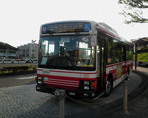 小田急シティバス「新宿駅~よみうりランド」(よみうりランド停留所・2013年9月29日)