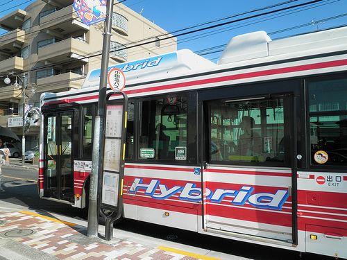 小田急バス「調布」バス停(東京都調布市小島町・2013年10月3日)