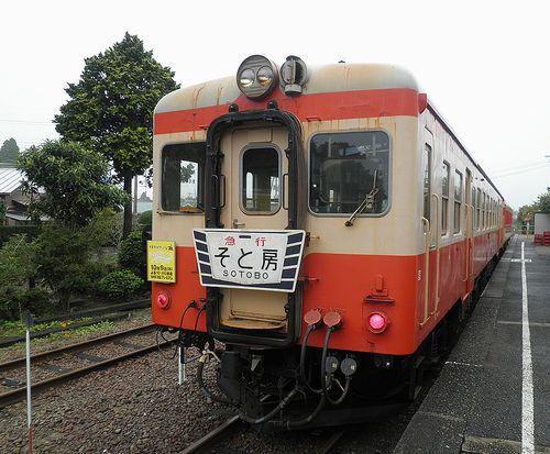 いすみ鉄道キハ52 125(2013年10月6日・大多喜駅)