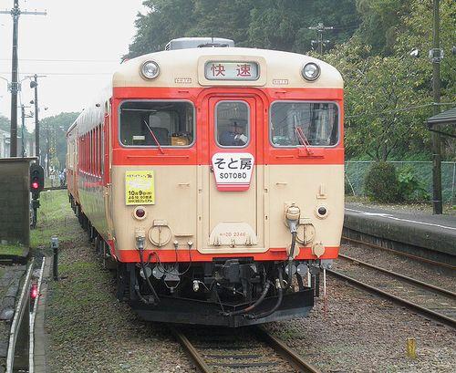 いすみ鉄道キハ28 2346(2013年10月6日・大多喜駅)