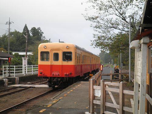小湊鉄道里見駅(2013年10月6日)5