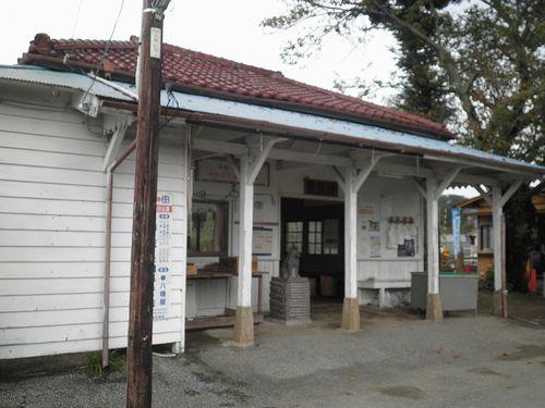 小湊鉄道里見駅(2013年10月6日)3