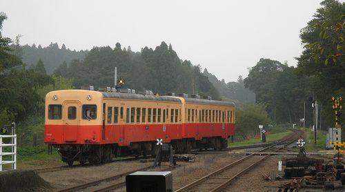 小湊鉄道里見駅(2013年10月6日)2