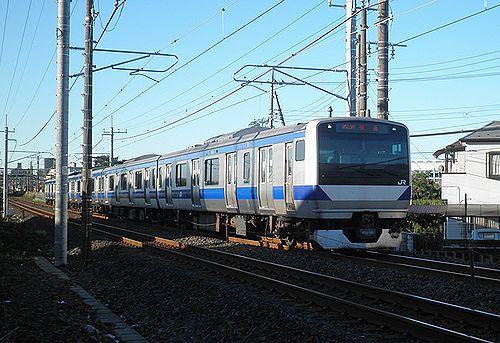 水カツE531系K459編成(2013年10月27日・土呂~東大宮間)