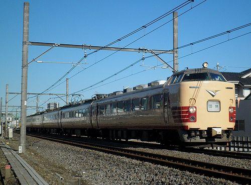 新ニイ485系T18編成(2013年10月27日・上尾~北上尾間)