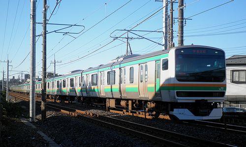 宮ヤマE231系U6編成(2013年10月27日・土呂~東大宮間) (2)