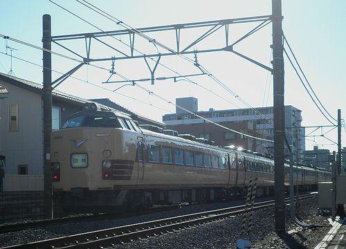 新ニイ485系T18編成(2013年10月27日・上尾~北上尾間)2