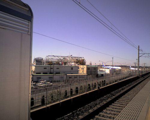 芝山鉄道芝山千代田駅(2010年1月26日)