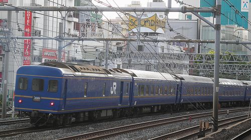 特急「あけぼの」(2012年5月12日・鶯谷駅)
