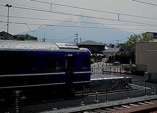 富士急行下吉田駅「ブルートレインテラス」(スハネフ14 20)(2011年5月21日) (4)