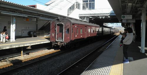 「D51誕生記念号」オハニ36他旧型客車(2013年11月23日・高崎問屋町駅)