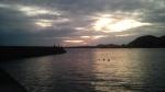 日の出とともに釣り開始!