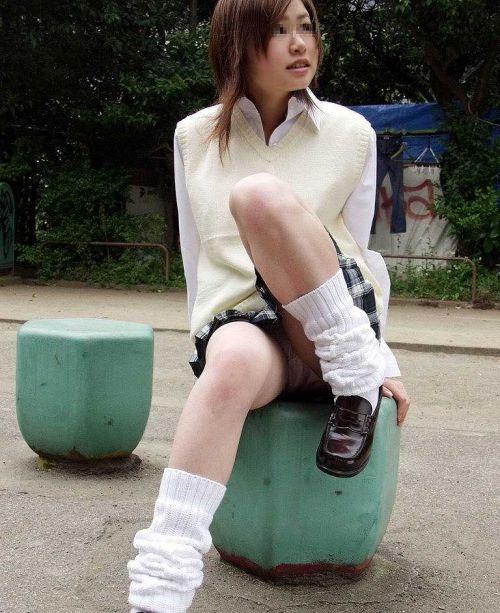 【三次】 女子校生のパンチラ・ミニスカ・生足エロ画像を貼ってくスレ! 53枚 part.11 No.19