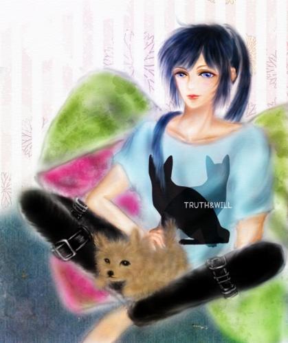 Tシャツカラー猫4