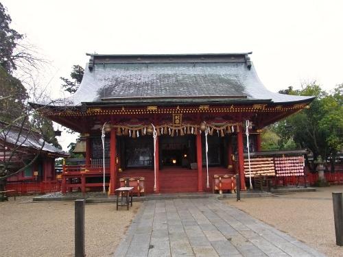 塩釜別宮拝殿