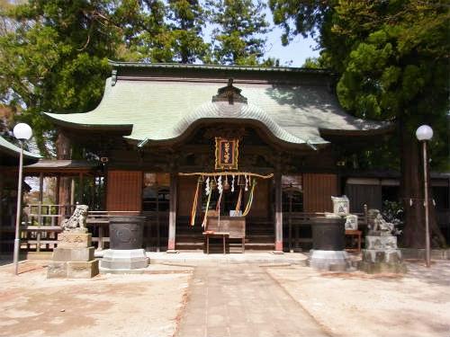 太田八幡拝殿