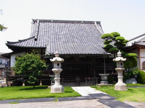 宝樹寺本堂