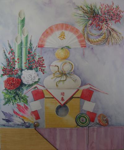 巳年の正月飾り