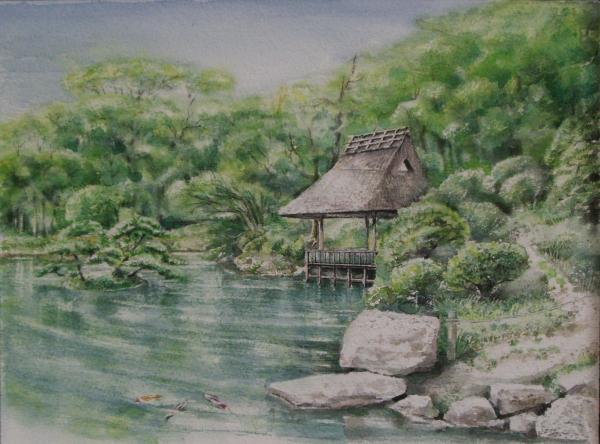 縮景園悠々亭-2
