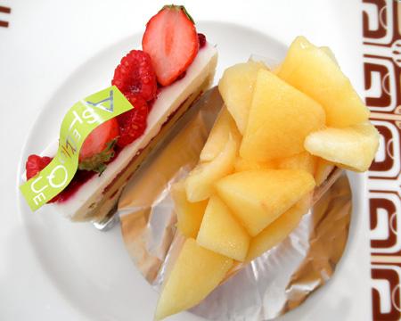 【ケーキ】アステリスク「和歌山県産白桃タルト」03