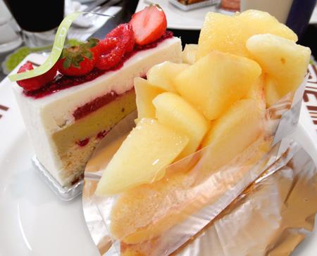 【ケーキ】アステリスク「和歌山県産白桃タルト」01