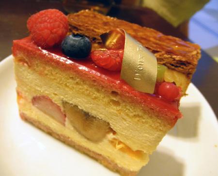 【ケーキ】ドゥーパティスリーカフェ「メリメロ」