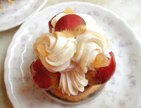 【ケーキ】アノー「サントノーレ~ポム~」04