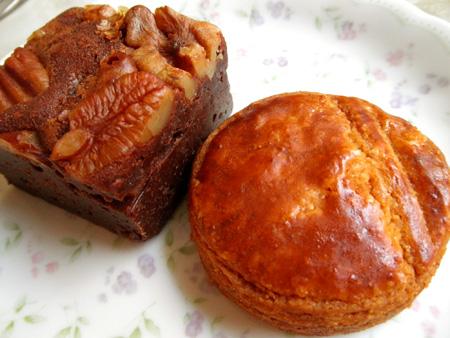 【焼き菓子】ラヴィルリエ「ガレット・ブルトンヌ&ブラウニー」