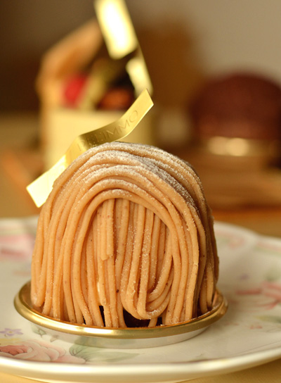 【ケーキ】デリーモ「モンブラン」 (3)