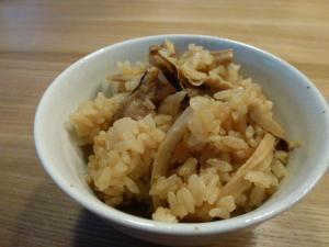 マツタケご飯1011