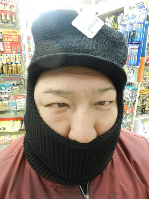 目だし帽 004