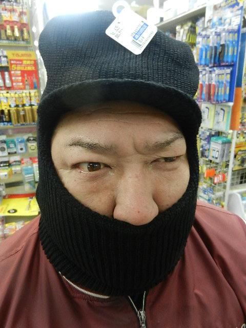 目だし帽 005