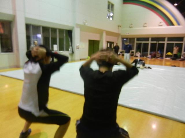 レスリング練習 001