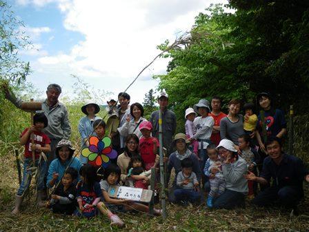 森のたね 野生動物の棲める森 植樹5