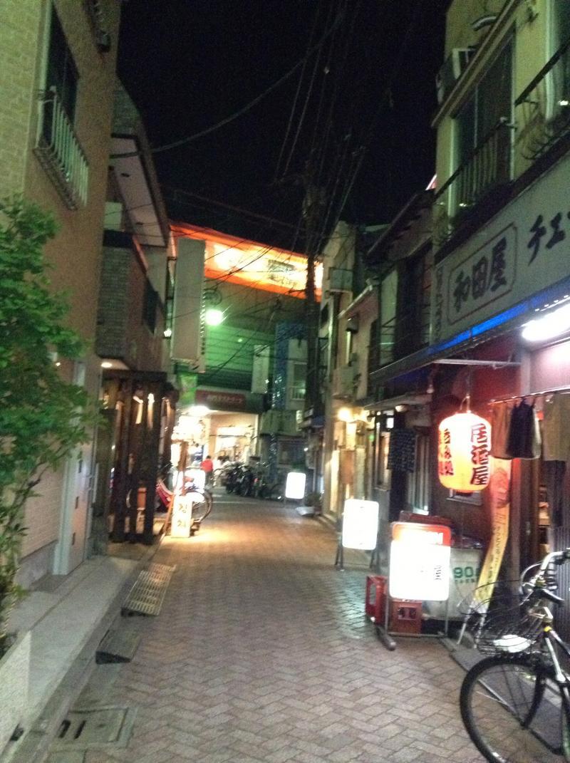 高円寺の町並み