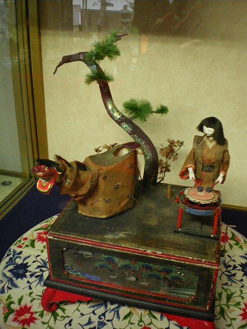 座敷からくり人形(江戸末)