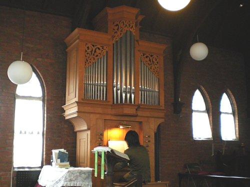 川越キリスト教会オルガン