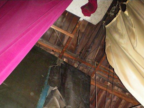 旧鶴川座・そで天井