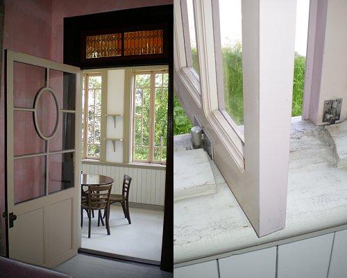 1階サンルーム窓