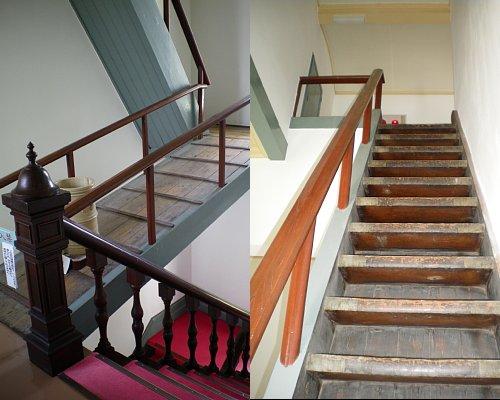 新潟県議会旧議事堂・階段