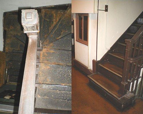 青山ビル・裏階段