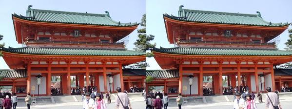 平安神宮①(平行法)