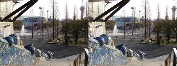 鶴見緑地公園⑦(平行法)