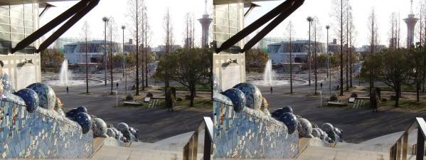 鶴見緑地公園⑦(交差法)