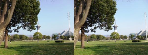 鶴見緑地公園①(平行法)